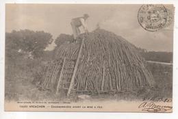 33.1136/ ARCACHON - Charbonniére Avant La Mise à Feu - Arcachon