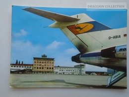 D162532 Flughafen Airport  STUTTGART - Lufthansa  Boeing - Aérodromes