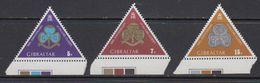 Gibraltar 1975 Girl Guides / Scouting  3v (+margin) ** Mnh (41507D) - Gibraltar