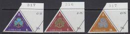 Gibraltar 1975 Girl Guides / Scouting  3v (corner, Sheet Number) ** Mnh (41507E) - Gibraltar