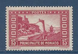 Monaco - YT N° 119 - Neuf Avec Charnière - 1933 à 1937 - Monaco