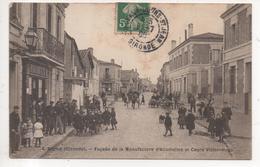 33.1142/ BEGLES - Façade De La Manufacture D'Allumettes Et Cours Victor Hugo - France