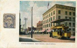 ETATS UNIS(SAN DIEGO) TRAMWAY - San Diego