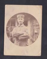 Photo Originale Portrait Militaire Armee Allemande  Felix Archen Marange Silvange Moselle 57 - Guerra, Militares