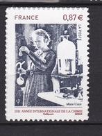Autoadhésif N° 524** Marie Curie - France