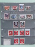 SMOM Segnatasse 1-10 E 11-16 Nuovi Perfetti, Valore Catalogo 8,60 - Sovrano Militare Ordine Di Malta
