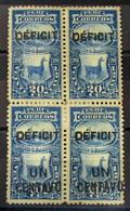 Perú Tasas 42+42a(B4) * - Peru