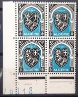 ALGERIE - N° 268 - Neuf SANS Charnières ** / MNH (BLOC DE 4) - Algeria (1924-1962)