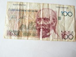 A Vendre Billet Belge De 100 Francs . Petit Prix De Départ - [ 2] 1831-... : Royaume De Belgique