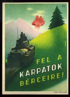 1938. Cca. Fel A Kárpátok Bérceire, Régi Propaganda Képeslap - Hongrie