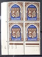 ALGERIE - N° 269 - Neuf SANS Charnières ** / MNH (BLOC DE 4) - Algeria (1924-1962)