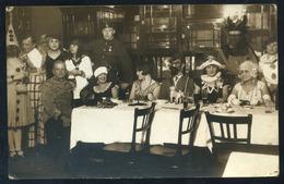 BUDAPEST 1928.cca.  Farsang, érdekes Régi Fotó, Képeslap - Other
