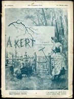 1903. A Kert , A Kertészet összes ágait Magába Foglaló Szaklap  IX/ 211. Szám - Vieux Papiers