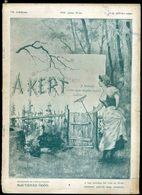 1901. A Kert , A Kertészet összes ágait Magába Foglaló Szaklap  VII/ 153. Szám - Vieux Papiers