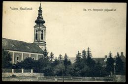 VÁROSSZALÓNAK. 1907 Burgenland. Régi Képeslap - Hungría