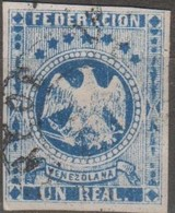 Venezuela 1863 MiN°10 1v (o) - Venezuela