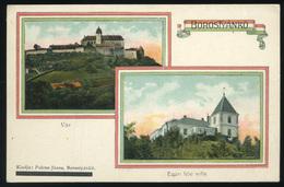 BOROSTYÁNKŐ / Bernstein 1911.  Régi Képeslap   /  BOROSTYÁNKŐ 1911 Vintage Postcard - Hongrie