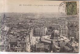 Toulouse Vue Generale Sur Le Matche  Des Carmes 1917 - Toulouse