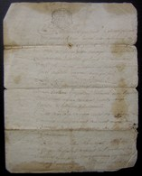 Généralité De La Rochelle Paroisse D'Aumagne, Village De Chaignon 1748 à Propos De Louis Guichard Tonnelier - Manuscrits
