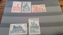 LOT 430886 TIMBRE DE FRANCE NEUF** LUXE N°772 A 776 - France