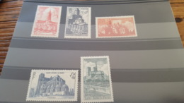 LOT 430887 TIMBRE DE FRANCE NEUF** LUXE N°772 A 776 - France