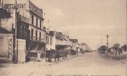 LA PALLICE - ROCHELLE: Boulevard Emile Delmas - France