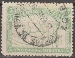 Venezuela 1896 MiN°48 1v (o) - Venezuela