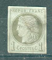 FRANCE ; Colonies ; émission Générales ; Cérès ; 1872-77 ; Y&T N°14 ; Oblitéré - Cérès