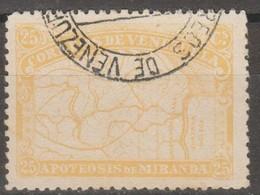 Venezuela 1896 MiN°50 1v (o) - Venezuela