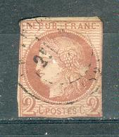 FRANCE ; Colonies ; émission Générales ; Cérès ; 1872-77 ; Y&T N°15 ; Oblitéré - Cérès