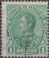Venezuela 1899 MiN°58 1v (o) - Venezuela