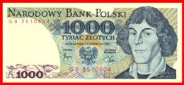 POLONIA NARODOWY BANK POLSKI BILLETE DE 1000 ZLOTYCH - Polonia