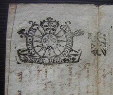 1690 Généralité De Montauban, Obligation Contre Jean Et Raymond Labiche Payable à Noble Jean Lacroix Seigneur De Gironde - Manuscrits