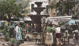 GRASSE: La Fontaine De La Place Aux Aires - Grasse