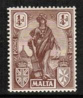 MALTA  Scott # 98* VF MINT HINGED (Stamp Scan #436) - Malta