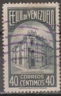 Venezuela 1938 MiN°243 1v (o) - Venezuela