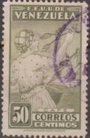 Venezuela 1938 MiN°244 1v (o) - Venezuela