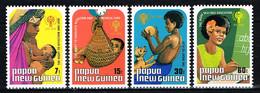 "Kind & Jugend ""Annee Internationale De L` Enfant 1979"", PAPUA NEW GUINEA,  4 Marken  Postfr. / MNH / Neuf - Papua Nuova Guinea"
