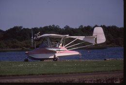SLIDE / AVION / AIRCRAFT     ORIGINAL   BISCAROSSE 2001 - Diapositives (slides)