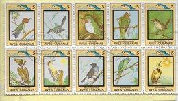 TIMBRES - STAMPS - SELLOS - FRANCOBOLLI - MARCOPHILIE - CUBA - 1983 - OISEAUX DIVERS - TIMBRES OBLITÉRÉS - Birds
