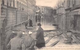¤¤   -   PARIS INONDE En 1910   -  Un Coin De La Rue Gros à Auteuil     -   ¤¤ - Arrondissement: 16