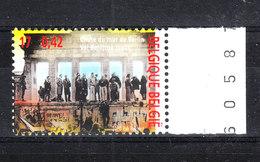 Belgio   -  2000. Caduta Del Muro Di Berlino. Fall Of The Berlin Wall. MNH - Histoire