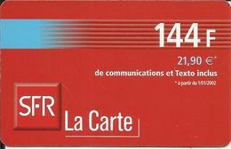 Télécarte 144 F , 21,90 € , N° LC16A , N° Série: 5420474358 - Per Cellulari (ricariche)