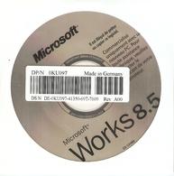 CD Microsoft Works 8.5 En Français - Traitement De Texte - OEM - CD