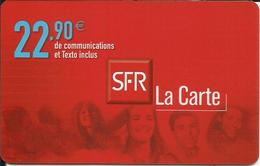 Télécarte 22,90 € , N° LC22 , N° Série: 9822175275 - Per Cellulari (ricariche)