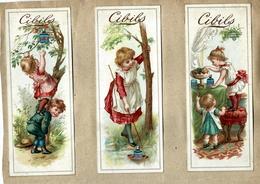 Lot 248 - 6 Bookmarks Cibils -  Anno 1890. - Chromos