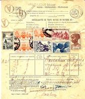 """1948-formulairen°165-167 """" IRREGULARITES DE TOUTE NATURE  EN MATIERE DE : """"  T P Irréguliers De PARIS ST LAZARE DOUANE - 1921-1960: Modern Period"""