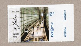 Privatpost- LVZ - 5 Jahre City-Tunnel Leipzig - S-Bahn - Eisenbahnen