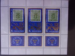HUNGRIE, UNGARN MI-NR BLOC 2981KB NEUF MNH POSTFRISCH - Blocks & Sheetlets