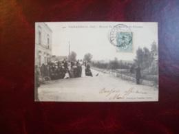 Carte Postale Ancienne De Varades: Route De Varades à St-Florent - Varades
